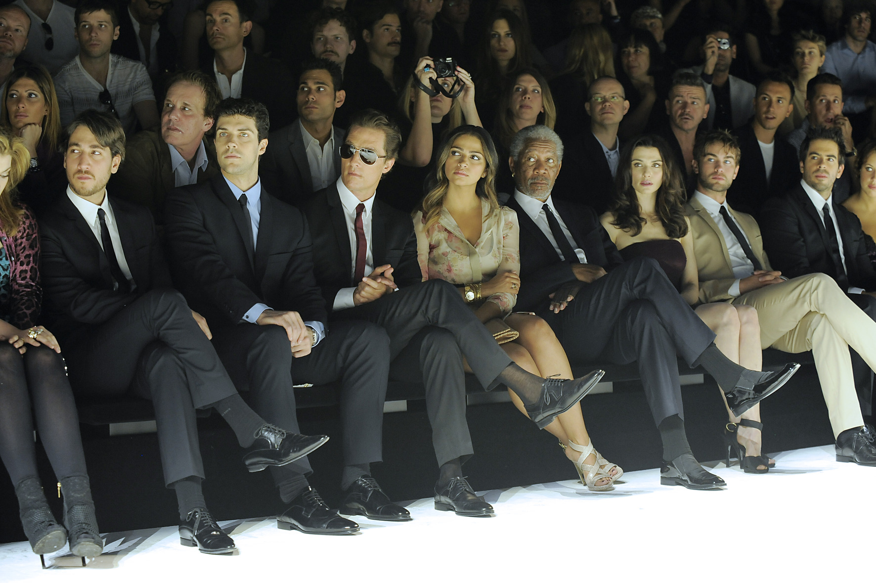Front Row Dolce And Gabanna Walk About