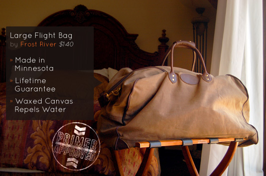 02dd9144658f frost river bags | Walk About.